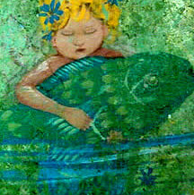Baby Mermaid Mural