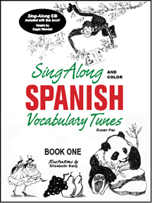 Sing Along Spanish Book