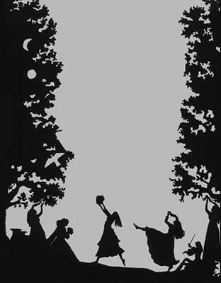 Black Amp White Illustrations Elizabeth Berg