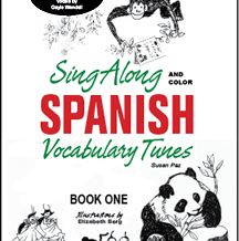 Sing-Along Spanish Book