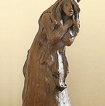 Cat Girl Sculpture