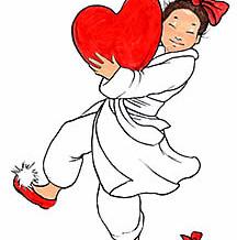 Valentine Girl Artwork