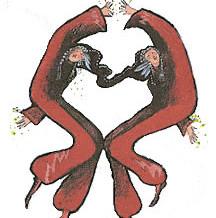 Twin Jesters Artwork